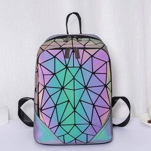 NEW Backpack Luminous Holographic